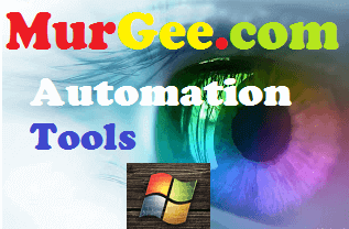 Visit MurGee.com to download Windows Automation Utilities